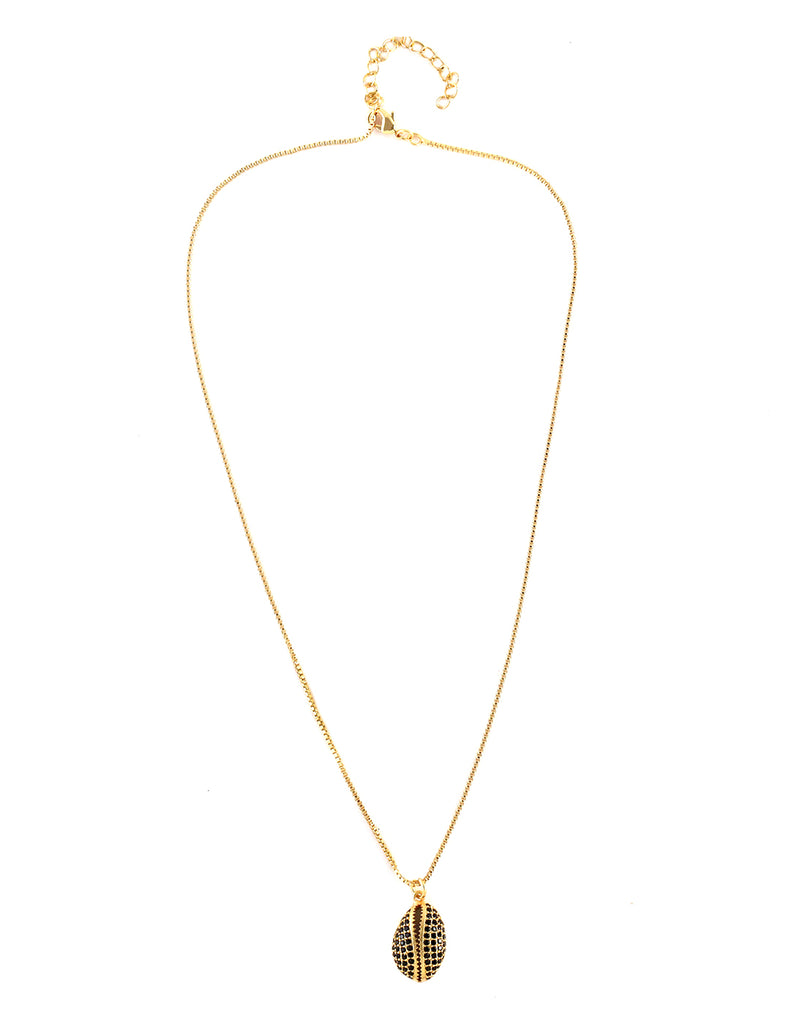 18K Gold Plated Shell Necklace