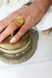 18K Gold Plated Reyna Ring