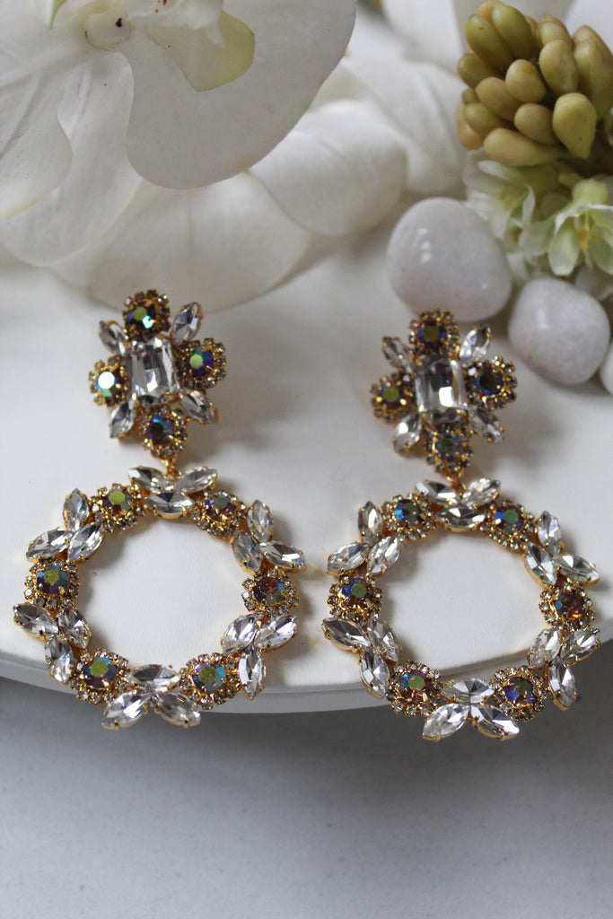 Crystal Luminous Earrings