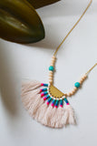 Multi Coloured Yala Necklace