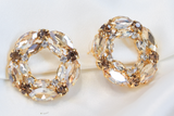 Champagne Malhar Earrings
