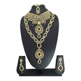 Dulhan Set / Nacklace  Set / Traditional Bridal Jewellery - Bagaholics Gift