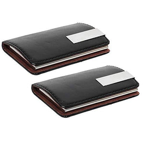 Stylish Visiting Card Holder  Case (Pack of 2)
