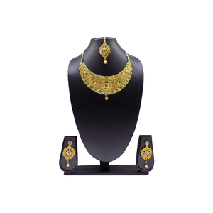 Necklace Set / Jewelry  Set with Earrings and Maang Tikka