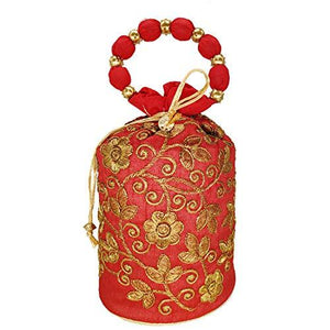 Embroidery work  Potli Bag Batwa - Bagaholics Gift