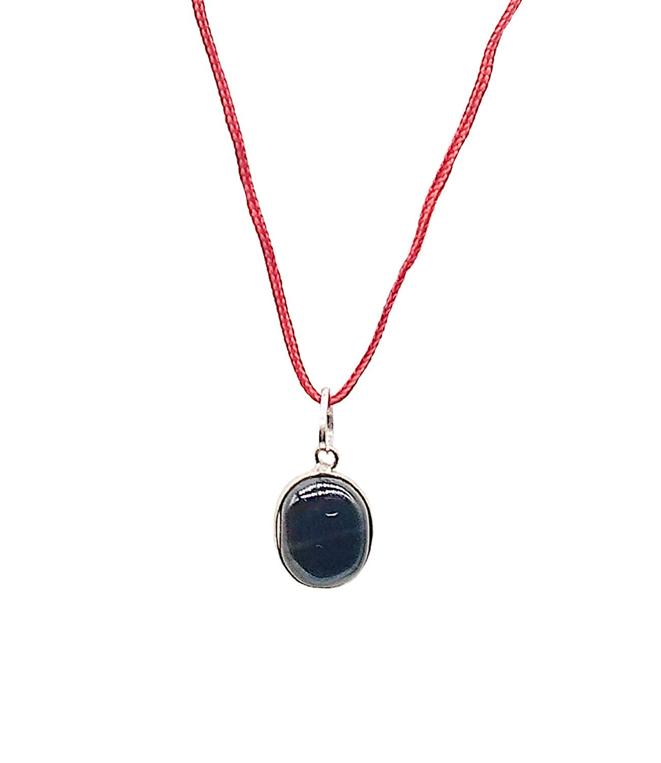 Black Stone Pendant Crystal for Men and Women - Bagaholics Gift