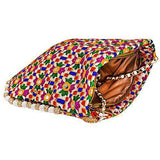 Embroidery Sling Bag Cross-Body Ladies purse (Multicolor) - Bagaholics Gift