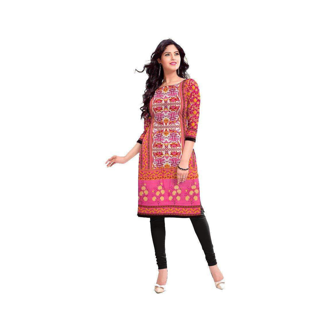 Women's Cotton Dress Material (SRKR14, Multicolour, Free Size) - Bagaholics Gift