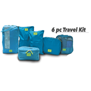 6 PCS Traveling Set - Bagaholics Gift