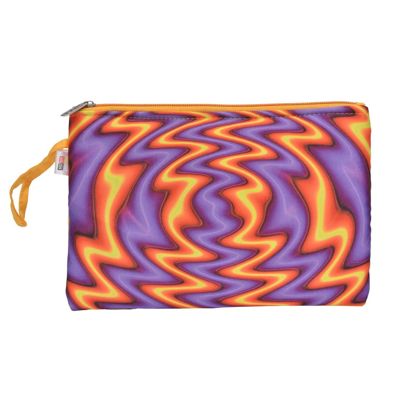 Multi Purpose Printed Pouch (Multicolor) - Bagaholics Gift