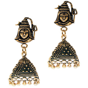 Jhumka Jhumki Earrings for women (Gold)