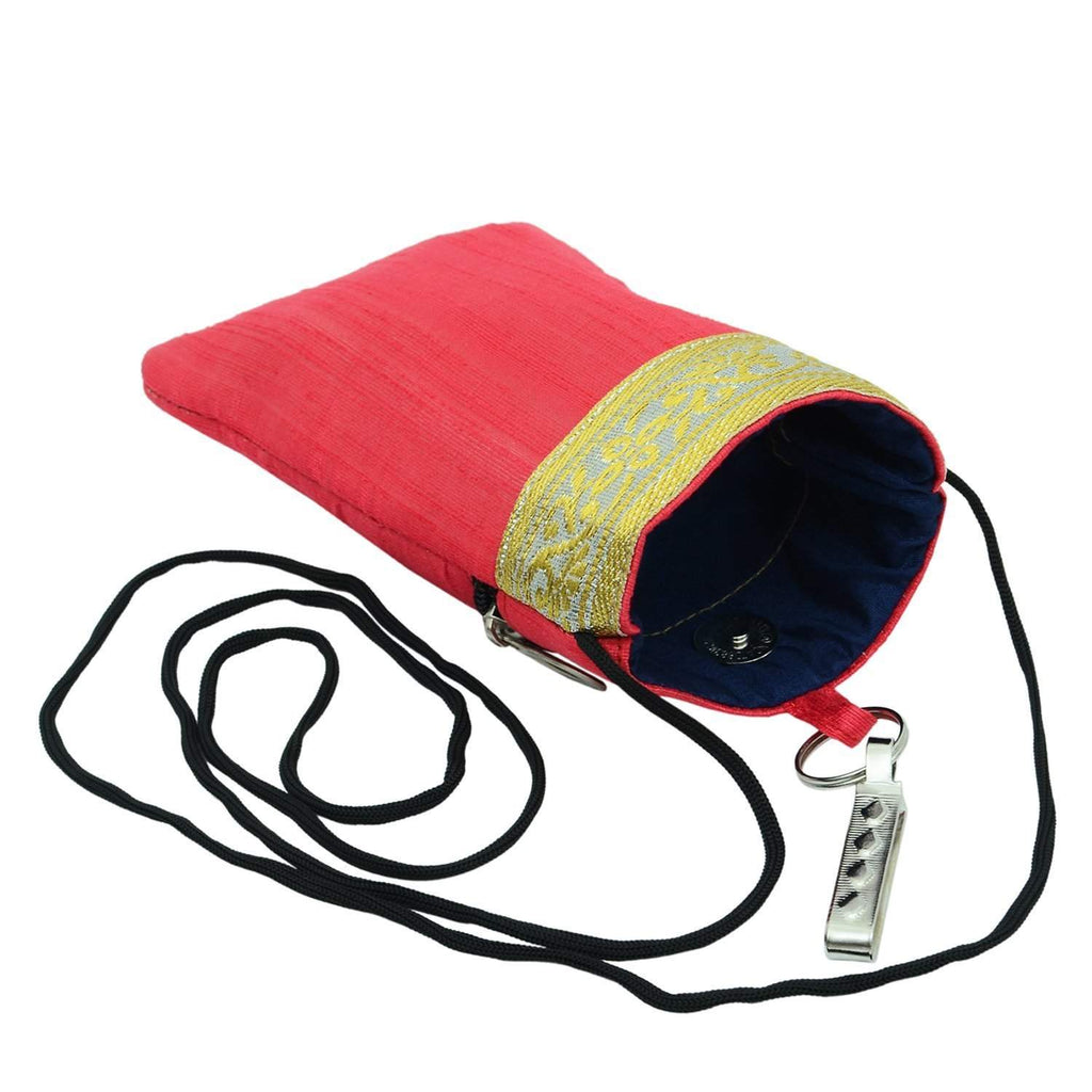 Waist Clip Mobile Pouch (Red)