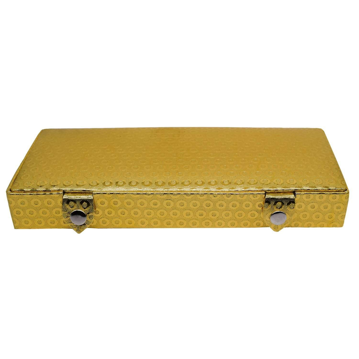 Multipurpose Cosmetic Organizer case Vanity Box (Gold) - Bagaholics Gift