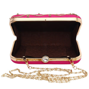 Handicraft Party Wear Box Clutches - Bagaholics Gift