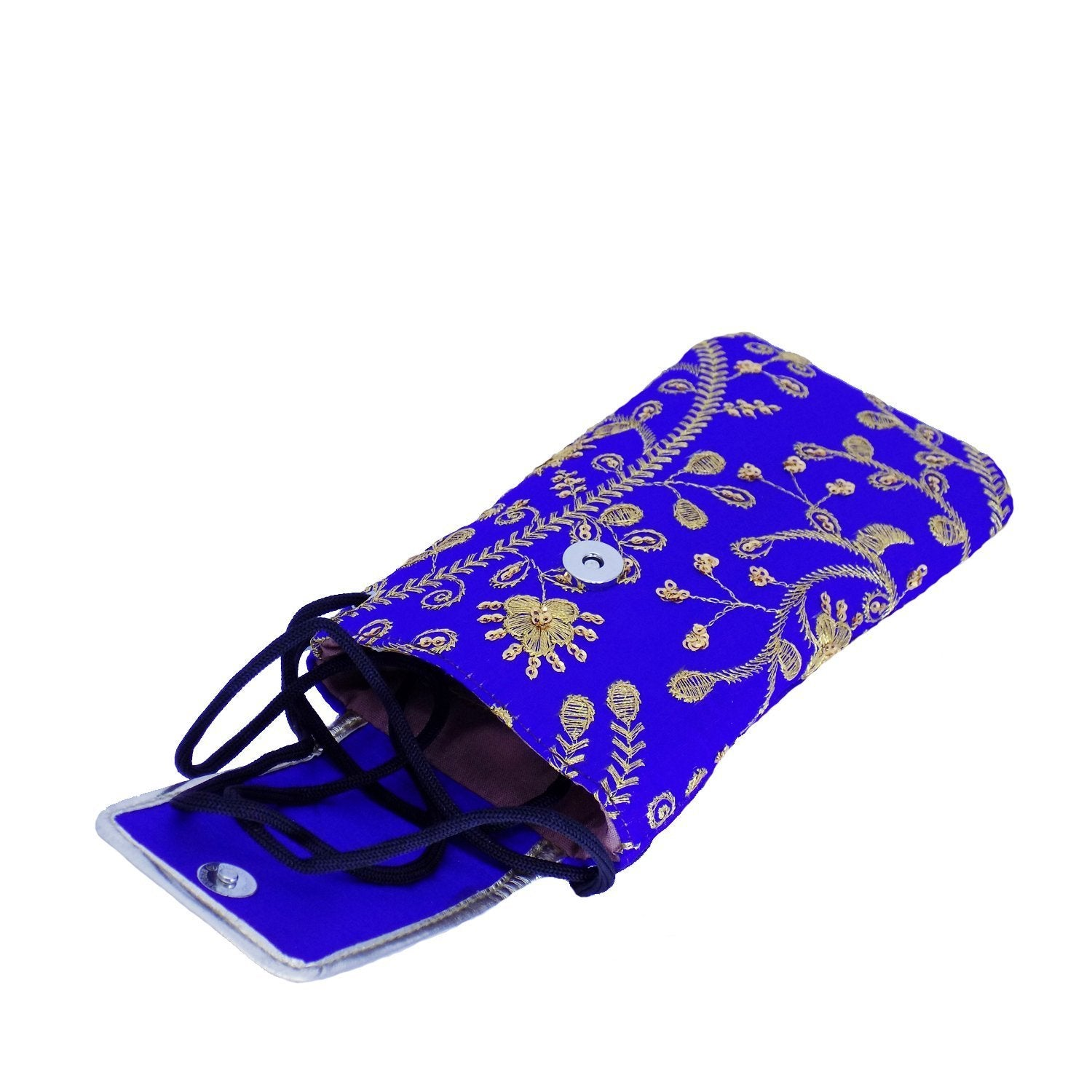 Raw Silk Mobile Pouch Waist Clip - Bagaholics Gift