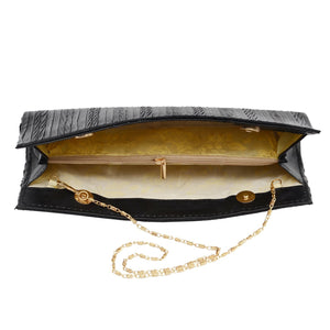 Party Wear Clutch (Black) - Bagaholics Gift