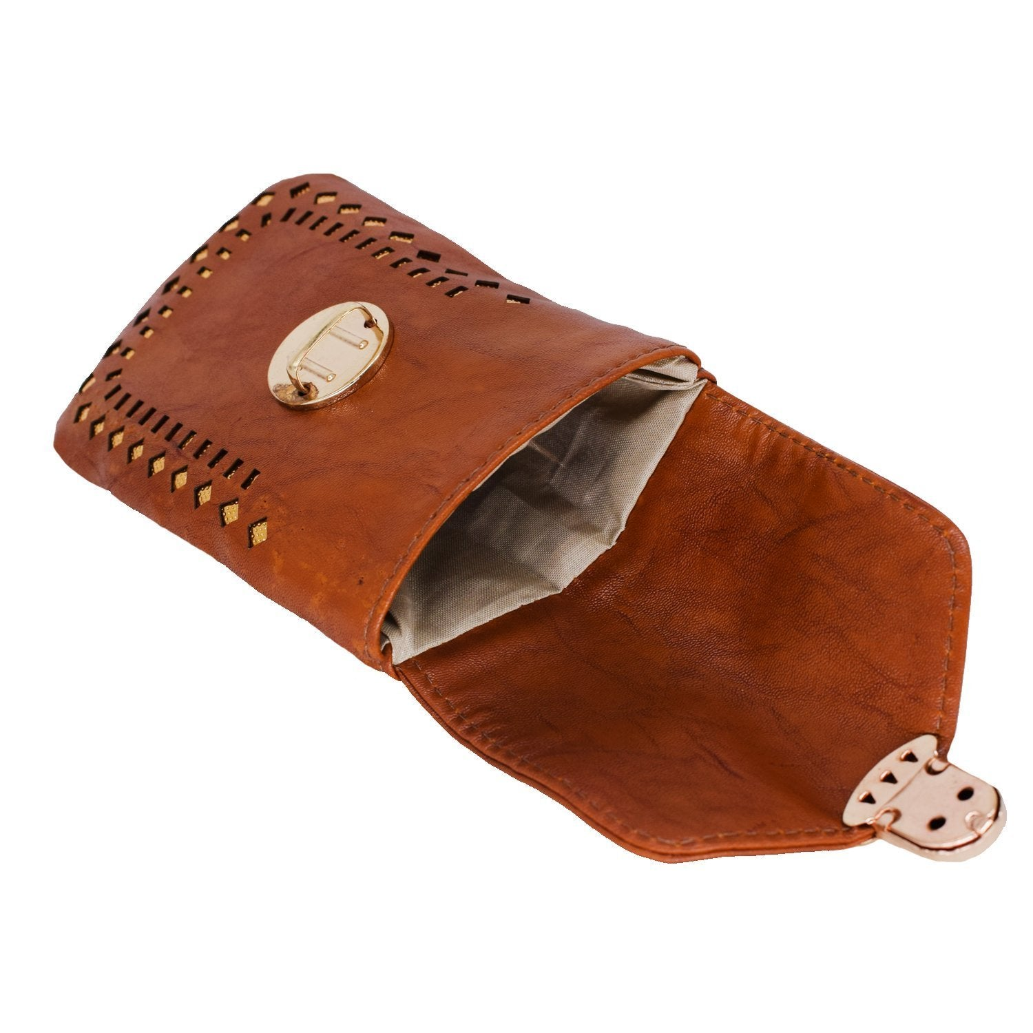 Artificial Leather Mobile Pouch Waist Clip - Bagaholics Gift