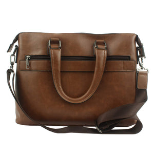 PLUTUS Office Bag PU Laptop Bag (Brown)