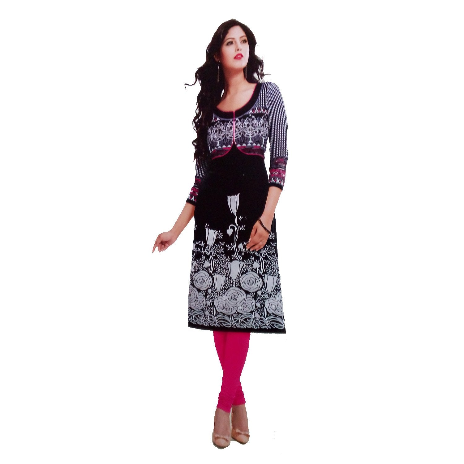 Women's Cotton Dress Material (SRKR3 Multicolour, Free Size) - Bagaholics Gift