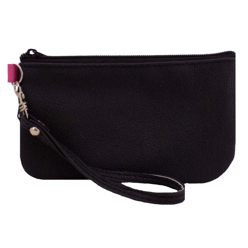 Waist Clip Mobile Pouch (Black) - Bagaholics Gift
