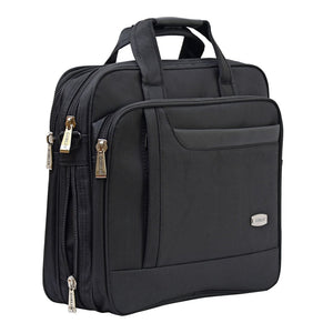 Polyester Office Bag Laptop Bag (Black)