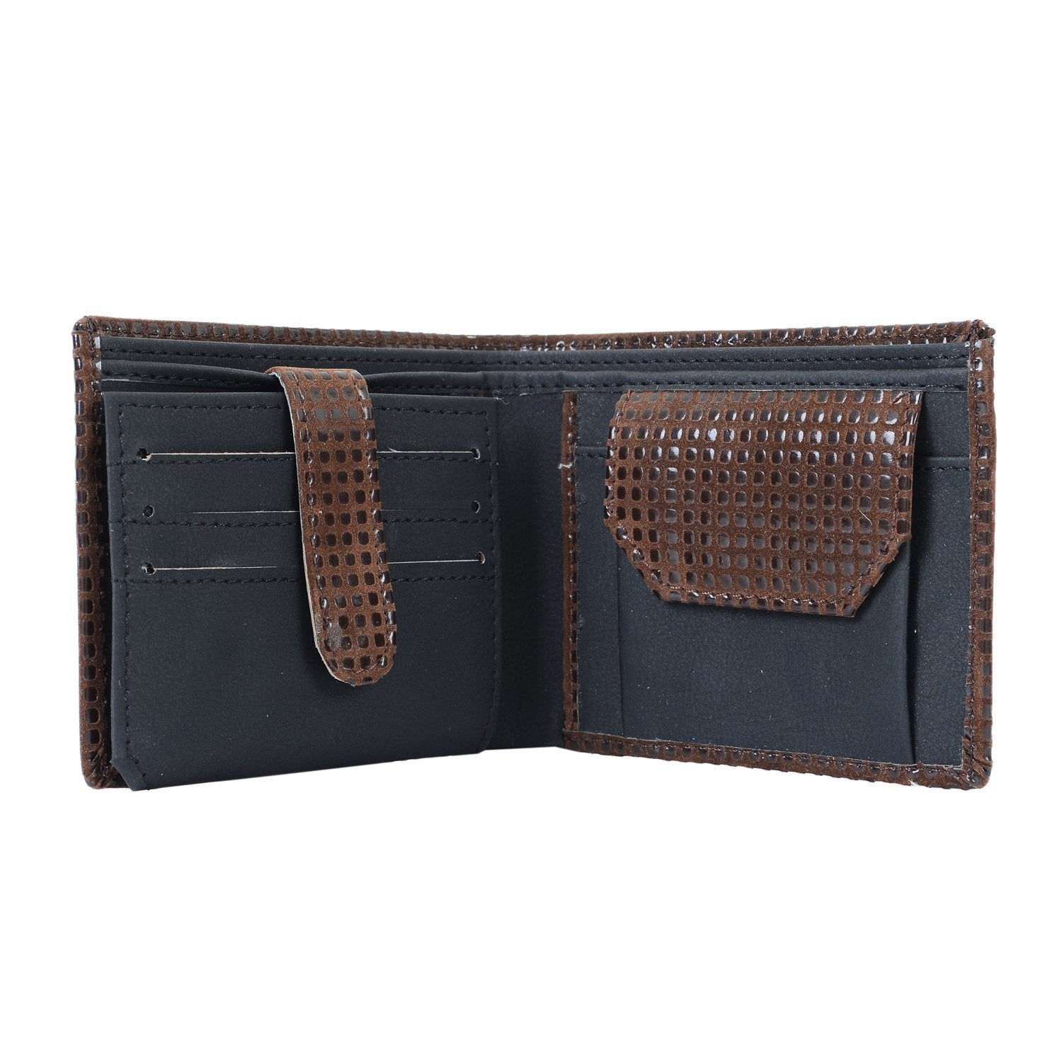 Men's Stylish PU Leather Wallet - Bagaholics Gift