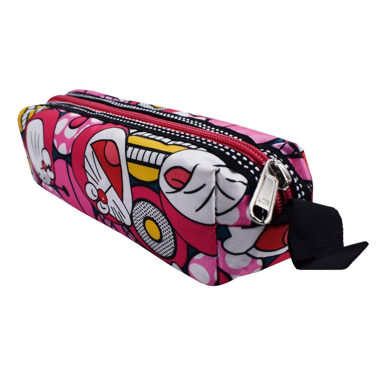 Multi Purpose Stationery Pouch Pencil Pouch (Pink) - Bagaholics Gift