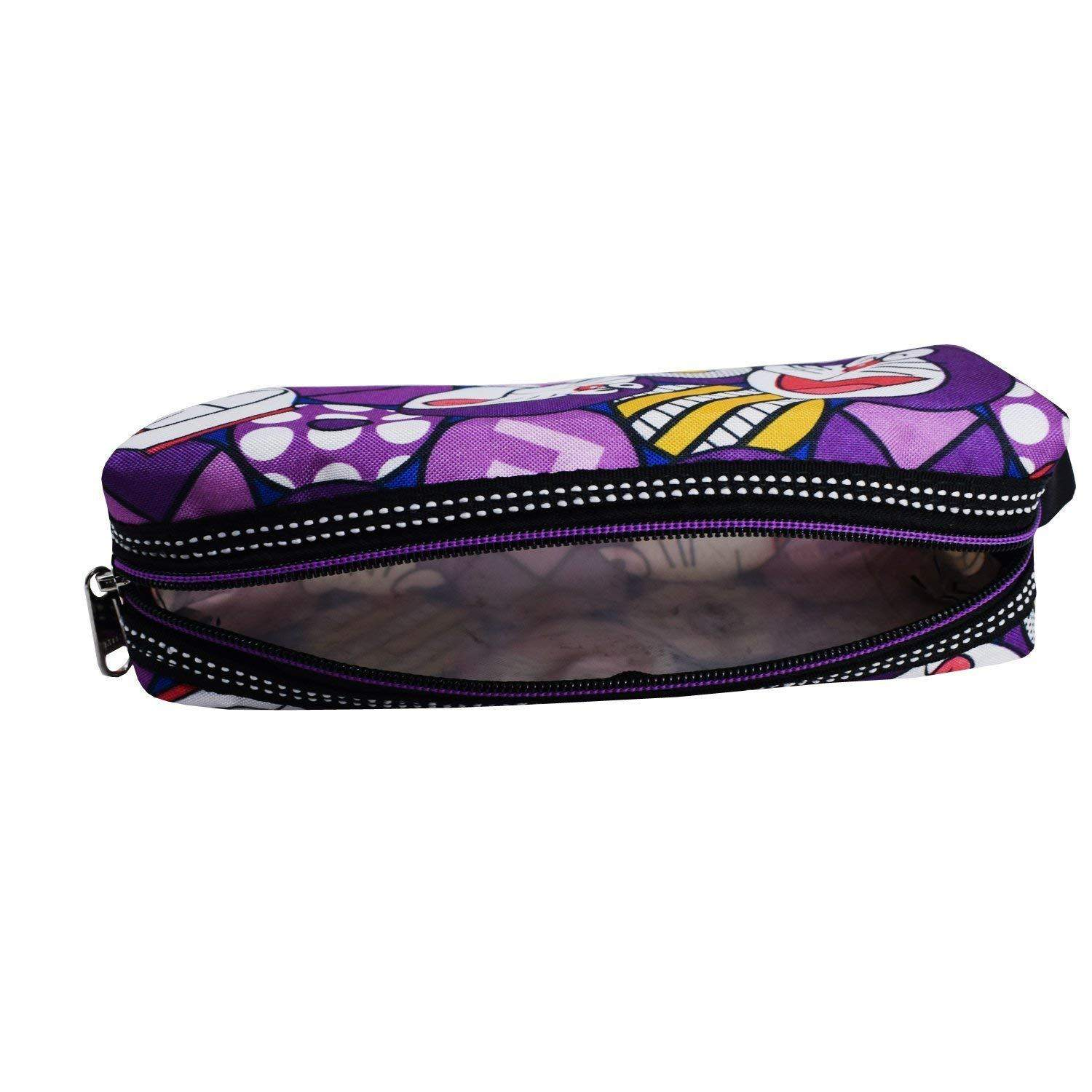 Multi Purpose Stationery Pouch Pencil Pouch (Purple) - Bagaholics Gift