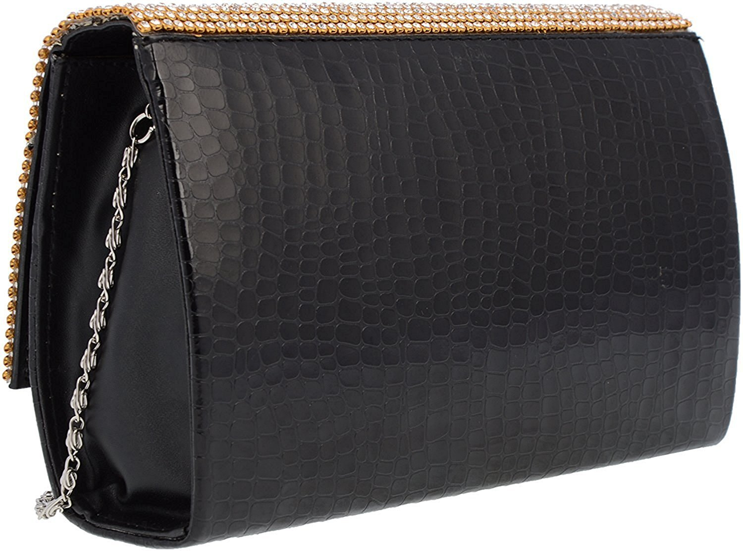 Cocktail Clutch (Black) - Bagaholics Gift