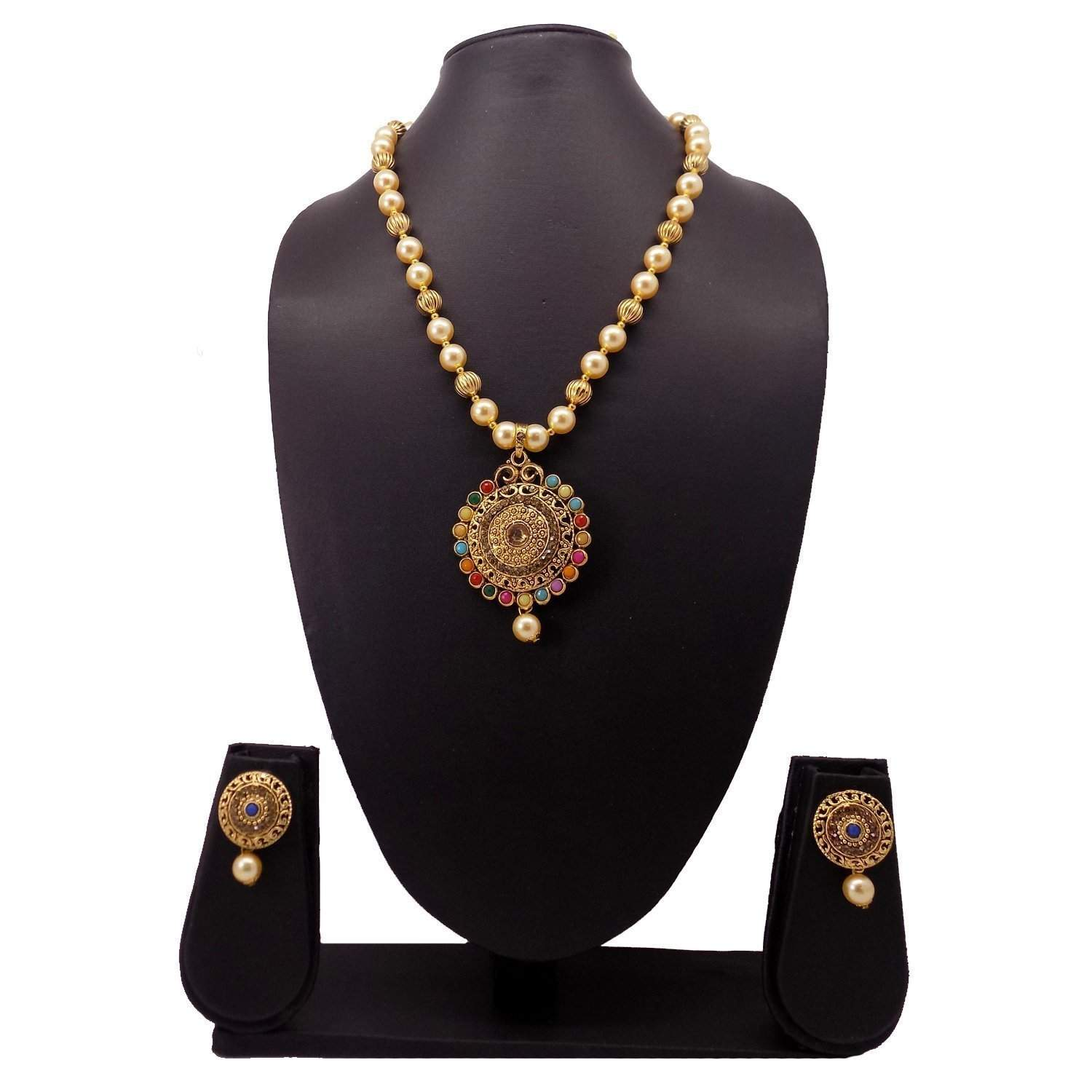 Necklace Set / Jewelry Set with Earring - Bagaholics Gift