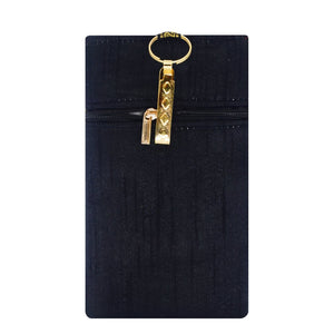 Raw Silk Mobile Pouch with Waist Clip