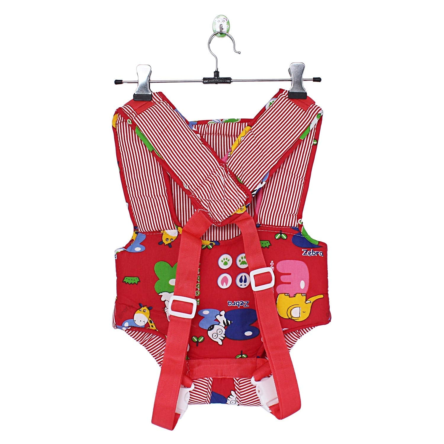 Printed Baby Carrier Backpack - Best for Baby (Red) - Bagaholics Gift