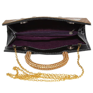 Diamond Studded Party wear Clutches - Bagaholics Gift