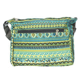 Sling Bag Cross-Body With adjustable Strap  (Green) - Bagaholics Gift