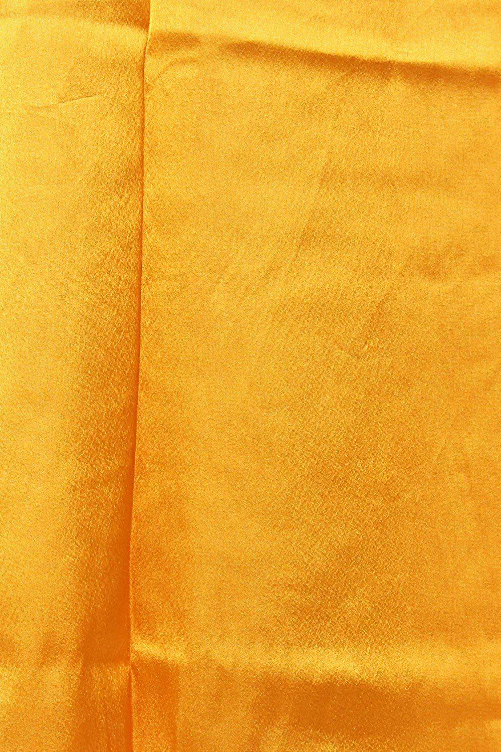 Lycra Fabric Women Solid Petticoat (Yellow) - Bagaholics Gift