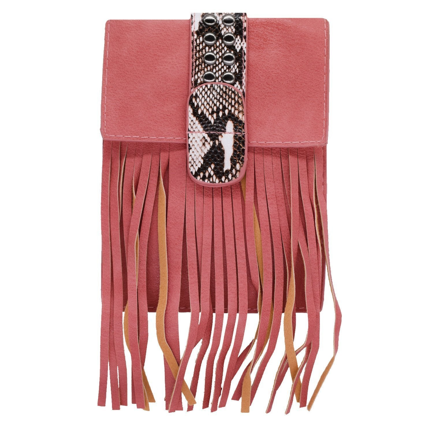 Small Fringes Sling Bag (Pink) - Bagaholics Gift