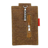 Jute Mobile Pouch Waist Clip - Bagaholics Gift