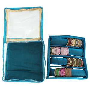 Turquoise Bangle Box  (4 Rods) - Bagaholics Gift