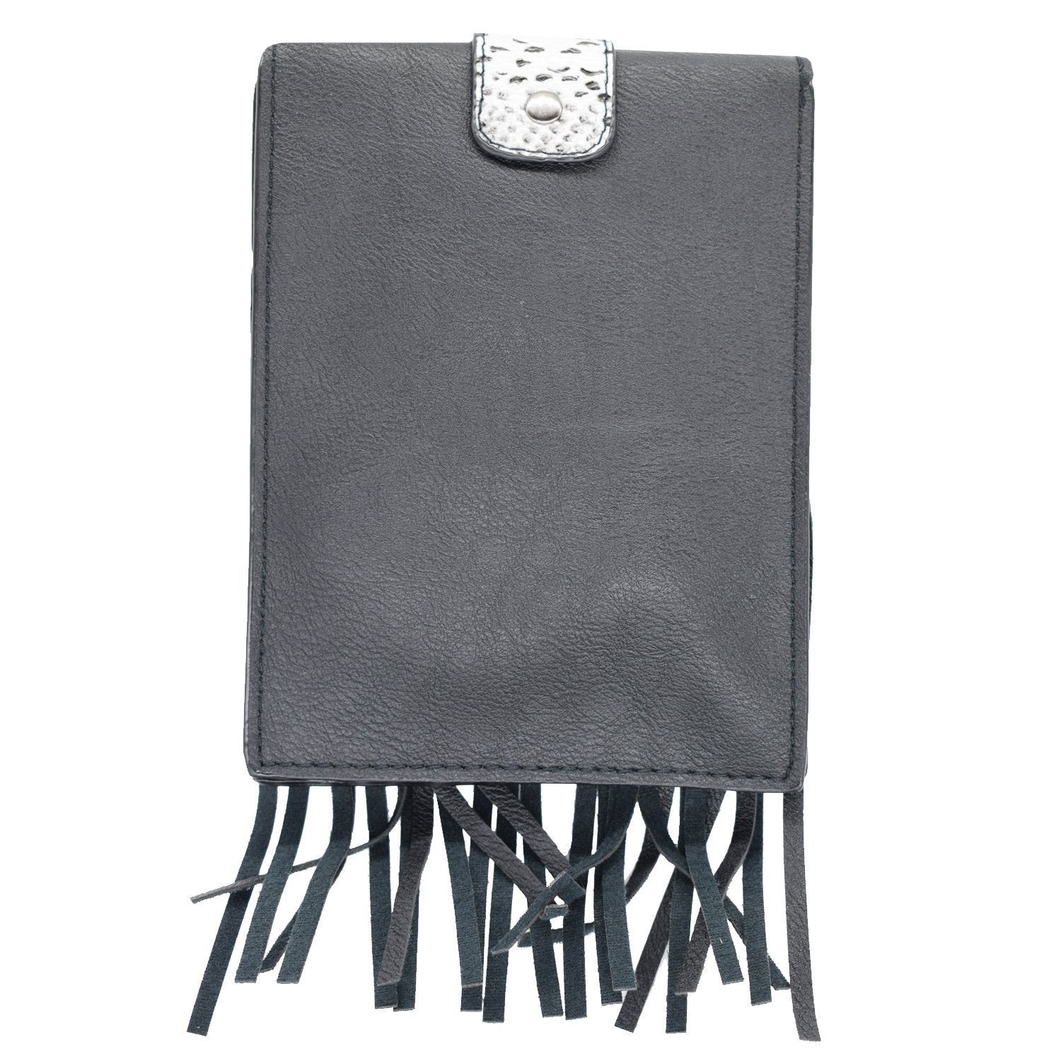 Small Fringes Sling Bag (Black) - Bagaholics Gift