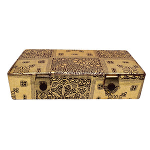 Multipurpose Makeup Cosmetic Organizer case Vanity Box (Dark Gold) - Bagaholics Gift
