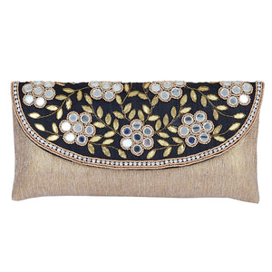 Ethnic Embroidery Clutch Wedding Purse - Bagaholics Gift