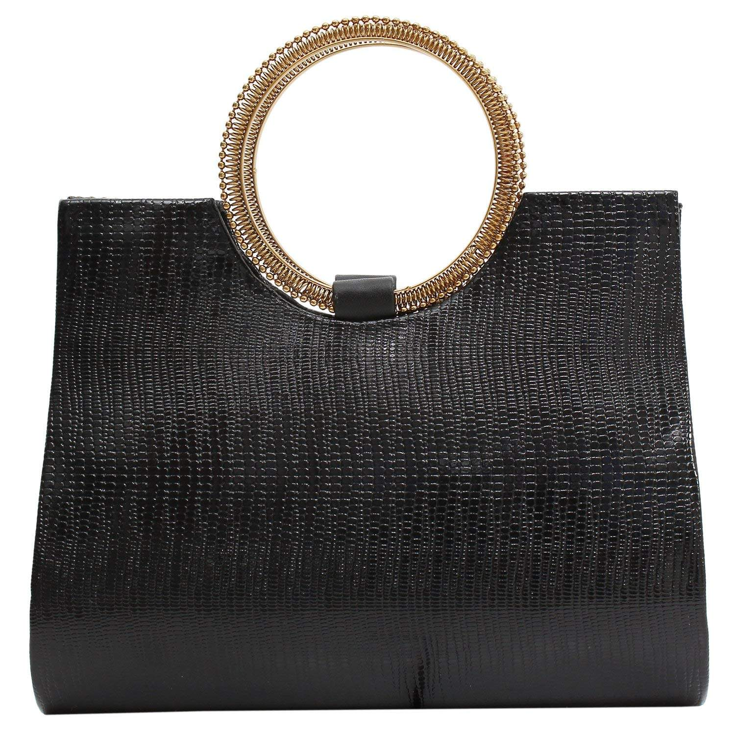 Ethnic Ladies Sling Clutches Side Bag  (Black) - Bagaholics Gift