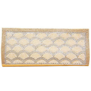 Party Wear Clutch (Gold) - Bagaholics Gift