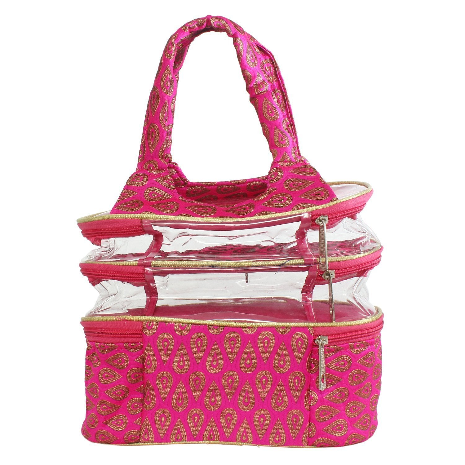 Multipurpose Travel pouch (Pink) - Bagaholics Gift