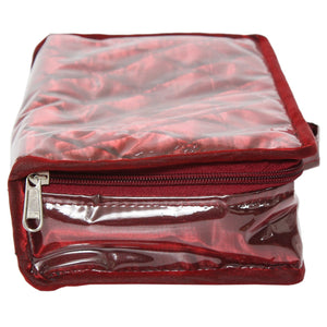 4 Zip Pockets Multipurpose Cosmetic Bag Makeup Pouch - Bagaholics Gift