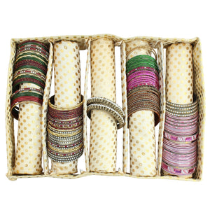 Gold Bangle Box (5 Rods) - Bagaholics Gift