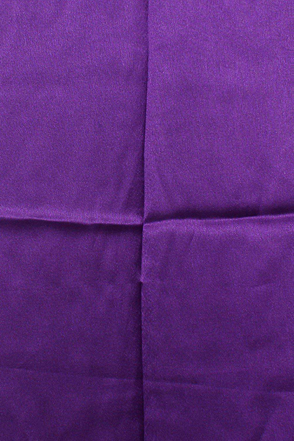 Lycra Fabric Women Solid Petticoat (Purple) - Bagaholics Gift