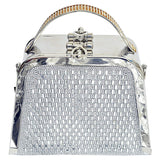 Cocktail Clutch (Silver) - Bagaholics Gift