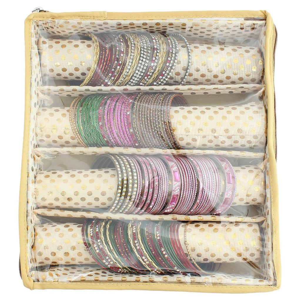 Gold Bangle Box  (4 Rods) - Bagaholics Gift