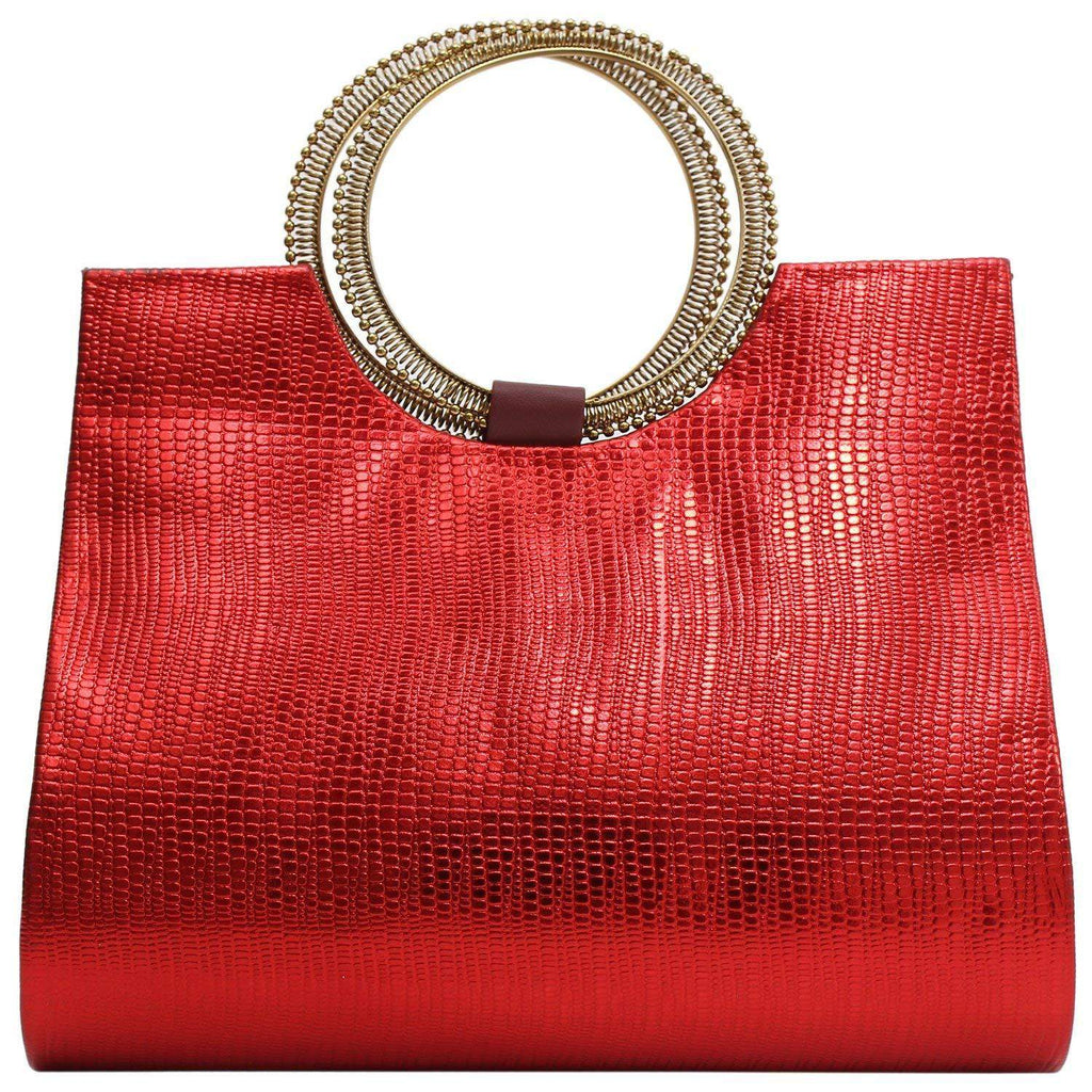 Ethnic Ladies Sling Clutches Side Bag (Red) - Bagaholics Gift